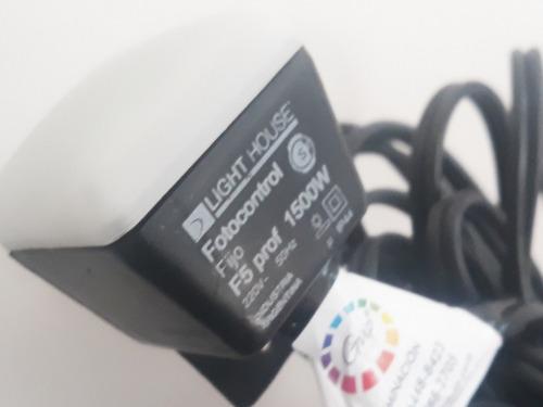 guirnalda exterior fotocelula solar 100% automática con foco