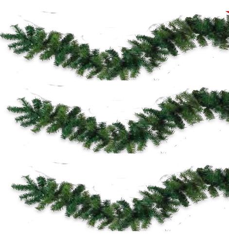 guirnalda guia navideña uso rudo 2.75mts x 20 ancho flexible
