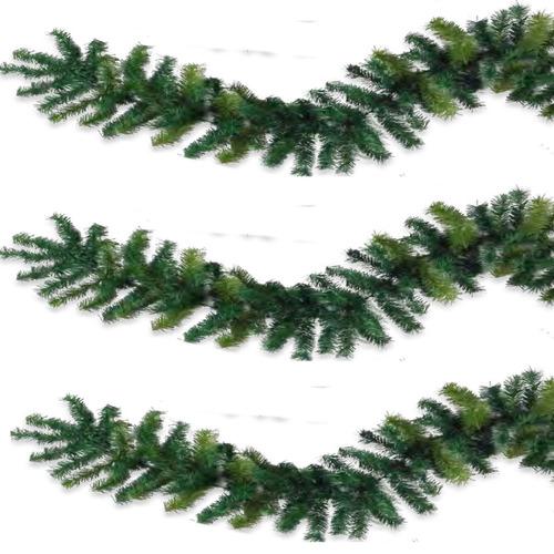 guirnalda guia navideña uso rudo 2.75mts x 25 ancho flexible