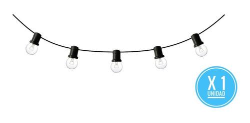 guirnalda kermésse x 5 mts luces calidas exterior cod: c5c70