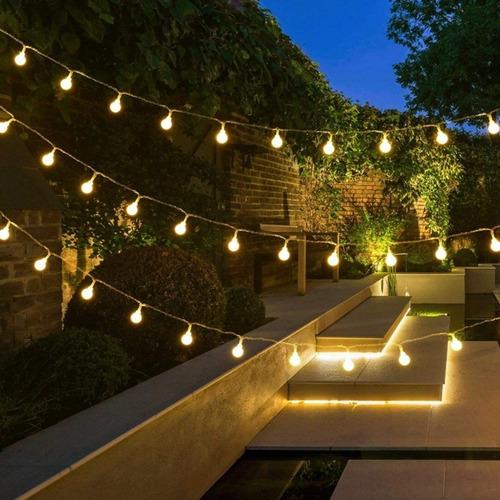 guirnalda luces 30 led hadas 4 metros pilas navidad calido