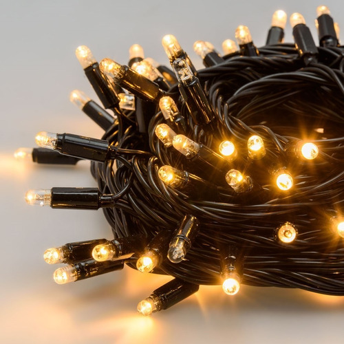 guirnalda luces deco navidad 500 led 50mt calida ml008