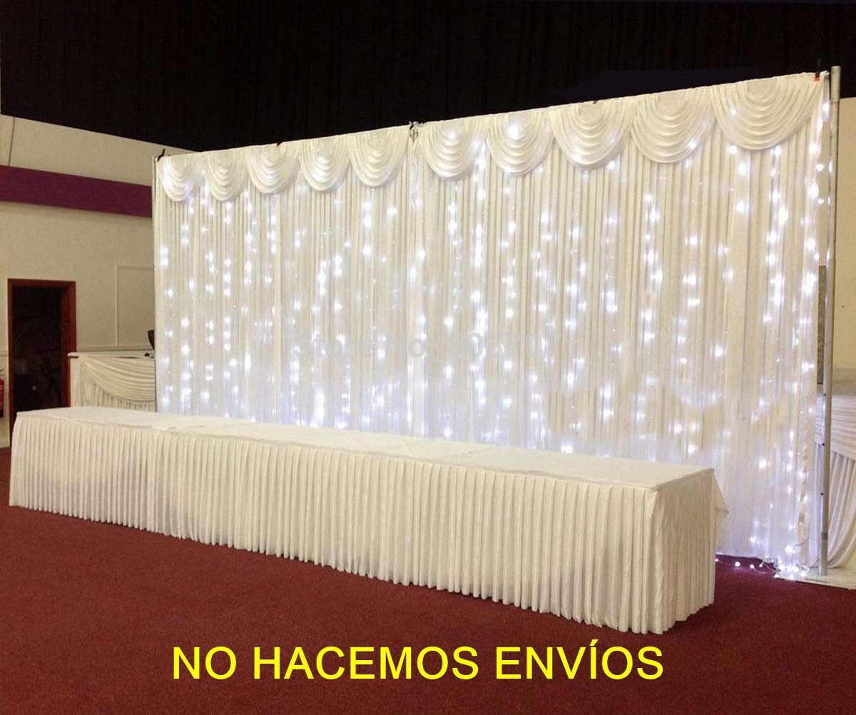 guirnalda luces led grandes decoracion eventos func mts