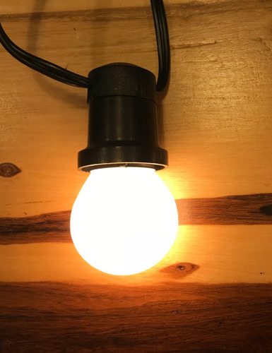 guirnalda luces premium x mt kermese feria vintage calidas