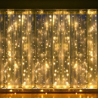 guirnalda luz calida lamparas led 9metros interconectable extensibles decoracion eventos shows