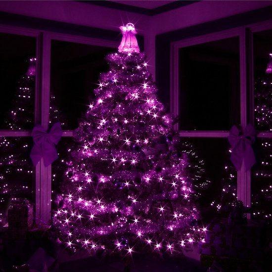 dadab116889 Guirnalda Luz Luces Navidad Led Rosa Arbol De Navidad X 10mt -   220 ...
