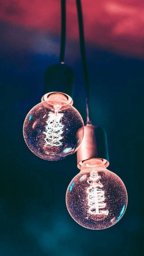 guirnalda mini lampara bolita cristal 10 luces led calida 2m