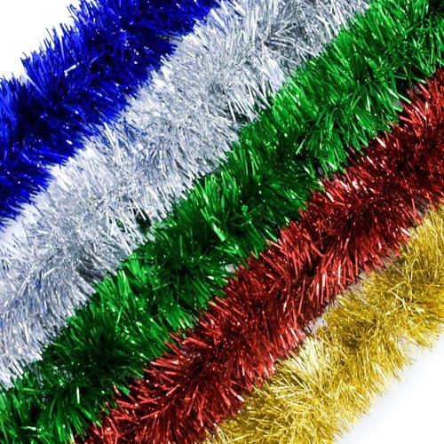 guirnalda navidad clásica colores 10 cm x 2 m #100