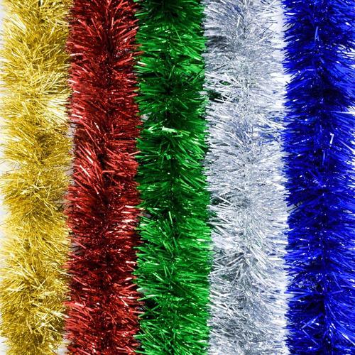 guirnalda navidad clásica colores 8,5 cm x 2 m #991