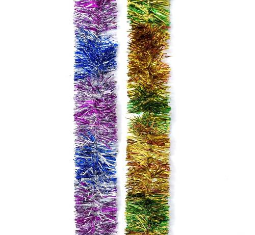 guirnalda navidad clásica multicolor 8,5 cm x 2 m #193