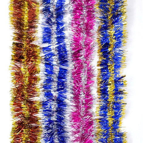 guirnalda navidad fantasía bicolor 8 cm x 2 m #176