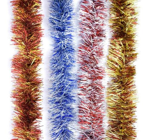 guirnalda navidad fantasía gofrada 7,5 cm x 2 m #181