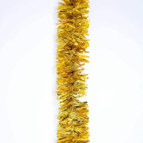 guirnalda navidad gofrada oro metalizado 8 cm x 2 m #172