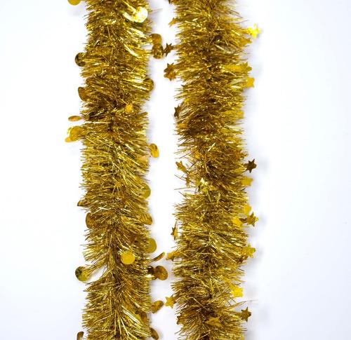 guirnalda navidad gofrada troquelada 8 cm x 2 m #333