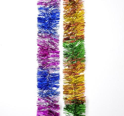 guirnalda navidad multicolor 4 cm x 2 m #114