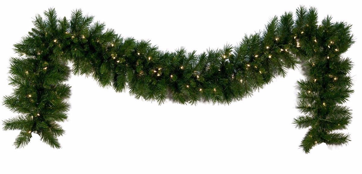 Guirnalda Navidad Rama Muerdago Canadiense 2m X 30cm Tupida 799 - Guirnalda-navidad