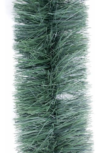 guirnalda navidad súper verde gofrada 13 cm x 2 m #317-00