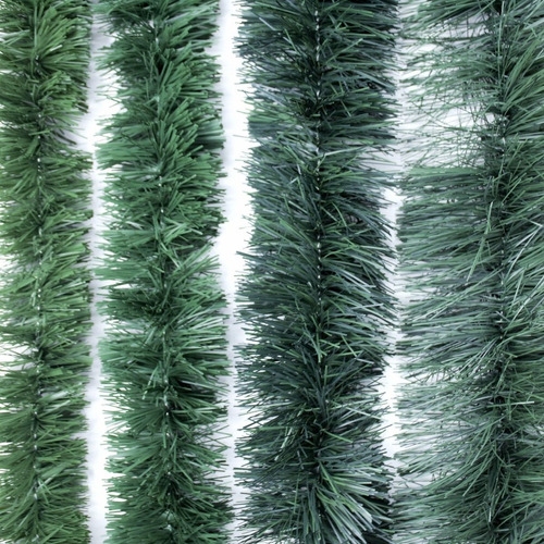 guirnalda navidad súper verde gofrada 7.5 cm x 2 m #295-00