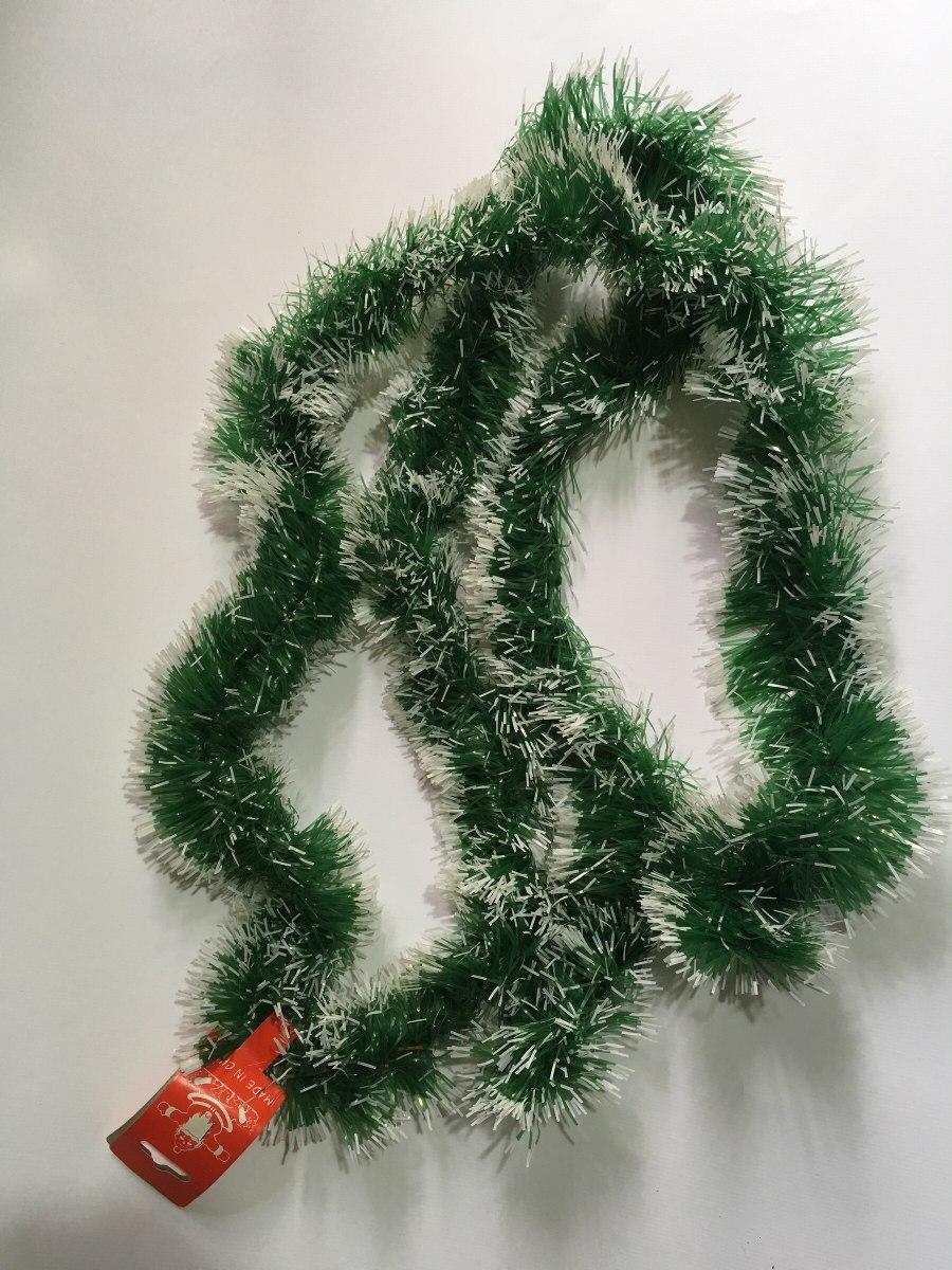 Guirnalda navide a 2 mtrs matizada con blanco remate - Guirnaldas de navidad ...