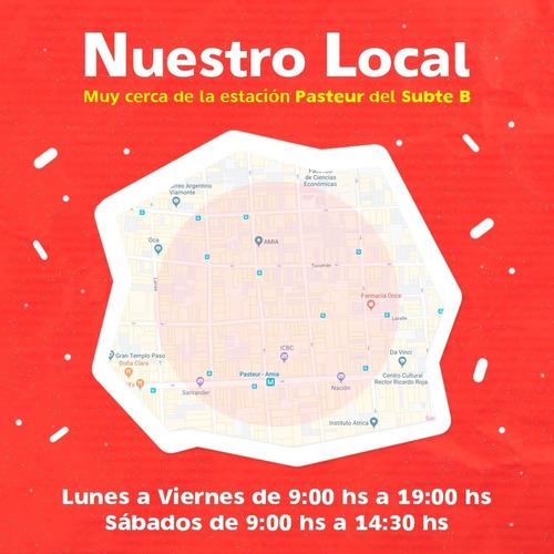 guirnalda panal rojo y blanco 2 mts x 4 u - ciudad cotillón