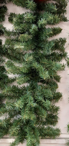 guirnalda super boa navideña uso rudo 2.75mts x 36cm ancho