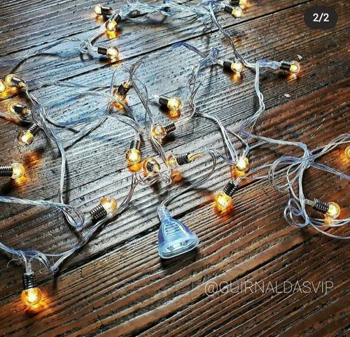 guirnaldas de luces led cristal 4,7 mts cortinas eventos