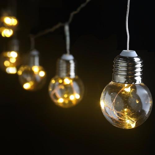 Guirnaldas de luces led hadas de ampolletas en - Guirnalda luces led ...