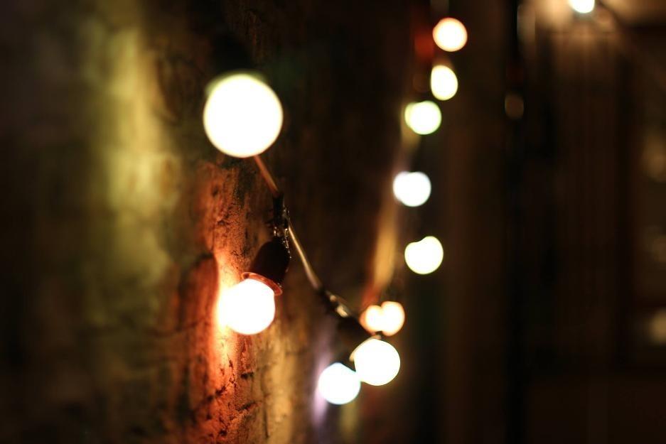 Luces exterior un led farola iluminacin externa lmpara - Guirnaldas leds para exterior ...