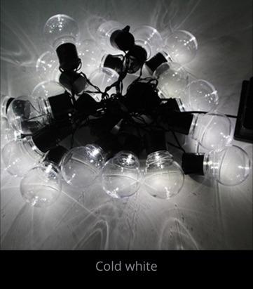 Guirnaldas De Luces Solares Con Fotocelula 20 Lamparitas 6 ... - photo#38