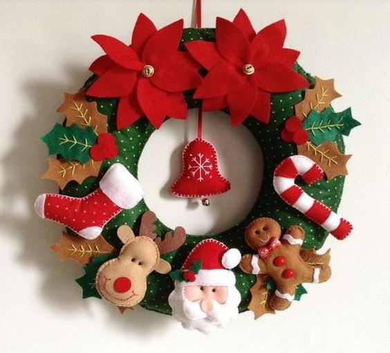 Guirnaldas de navidad coronas navide as bs 250 00 en - Guirnaldas de navidad ...