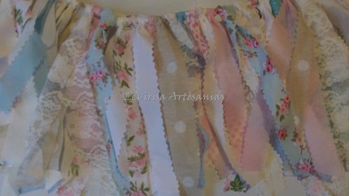 guirnaldas de tela _diseños exclusivos_ podes elegir la tela