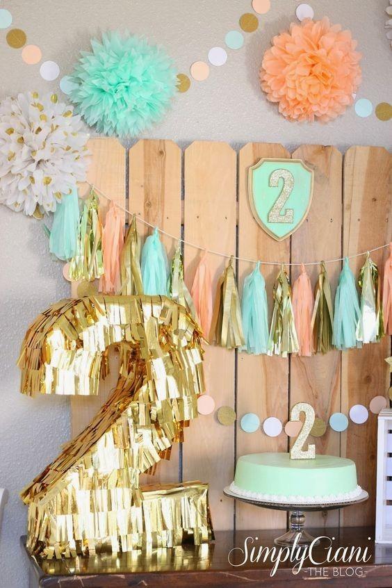 Guirnaldas decoracion fiestas candybar pompones bs 3 60 - Decoracion de guirnaldas ...