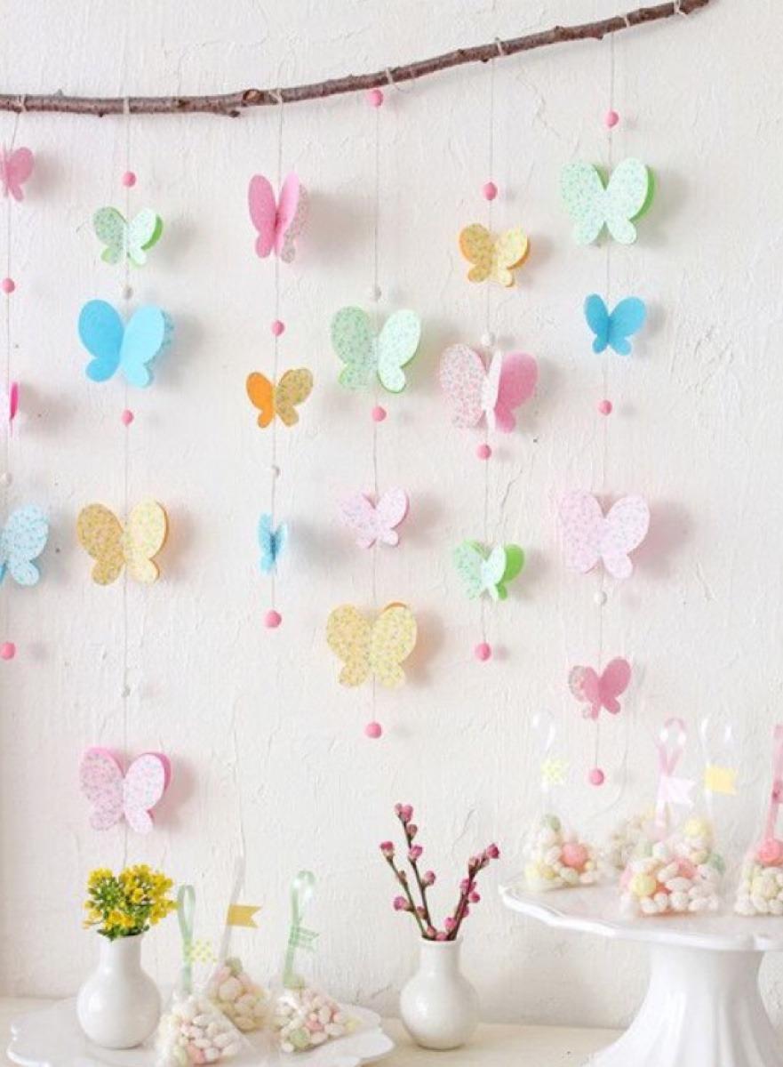 Como hacer cortinas decorativas o separador de ambientes - Ideas para cortinas infantiles ...