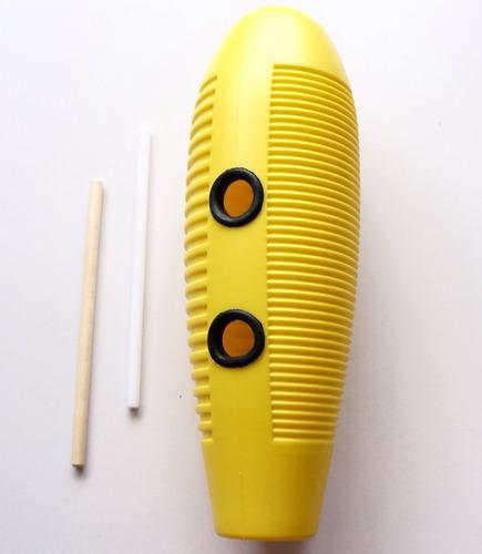 güiro 5d2 gur con 2 rascadores percusión salsa música /