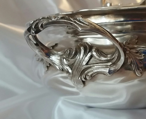 guisera plata maciza, 980 gramos, no es plaque