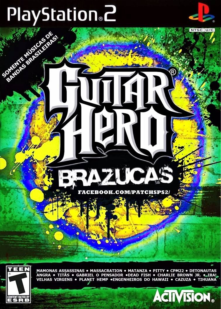guitar hero 3 brazucas 2 ps2