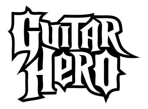 guitar hero - 5 adesivos - gm-000011