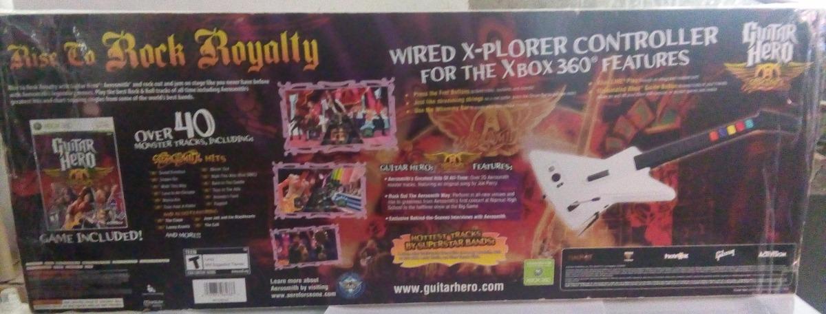 Guitar Hero Aerosmith Xplorer Xbox 360 Guitarra 3 ...