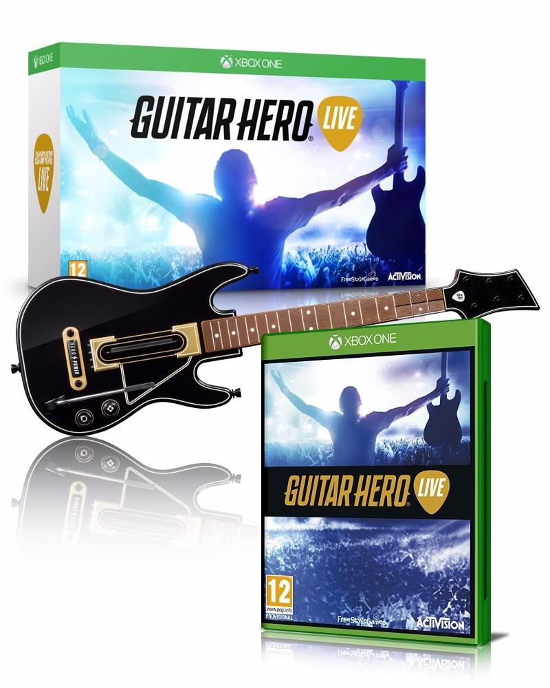 Guitar Hero Live Guitarra +juego Xbox One Nuevo - $ 1,399 ...
