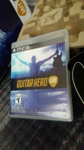 guitar hero live ps3 ¡nuevo!