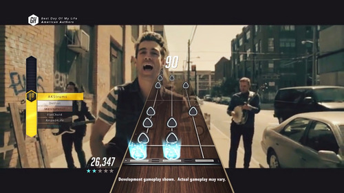 guitar hero live ps4 físico + 2 guitarras + 500 canciones