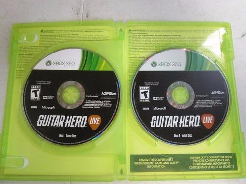 guitar hero live xbox 360 envio gratis