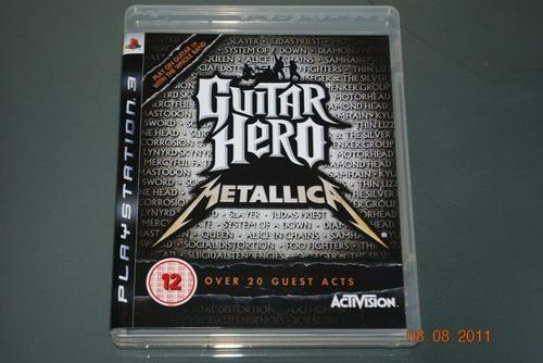 guitar hero metallica - playstation 3