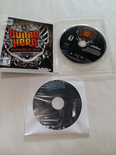 guitar hero warriors rock ps3