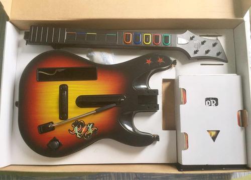 guitar hero world tour (guitarra y juego) para wii