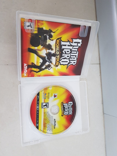 guitar hero world tour ps3 playstation 3 excelente estado 12