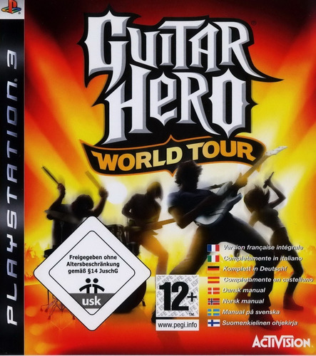 guitar hero world tour ps3 refurbished