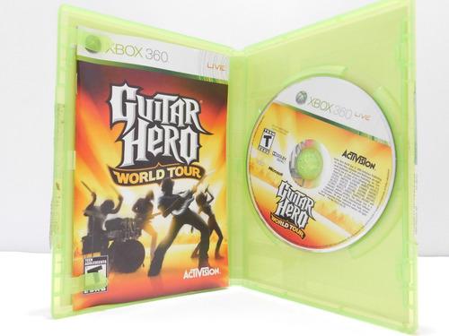 guitar hero: world tour xbox 360