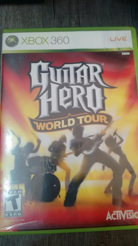 guitar hero world tour / xbox 360 / gmsvgspcs