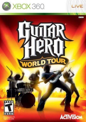guitar hero world tour xbox 360 nuevo y sellado